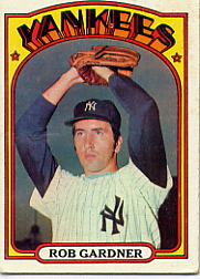 1972 Topps Baseball Cards      022      Rob Gardner